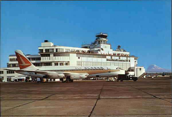 Alaska Airlines' Golden Nugget Convair 880 M Aircraft