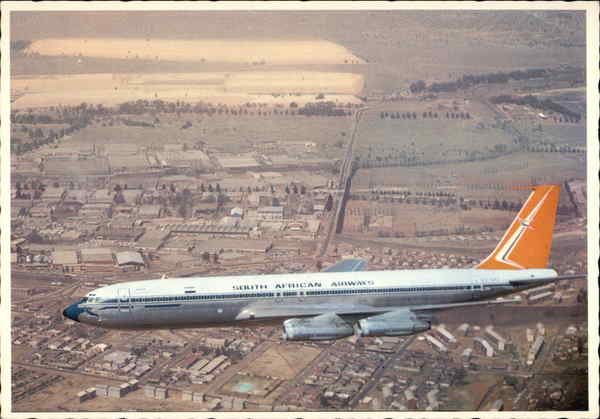 South African Airways Boeing 707 Aircraft