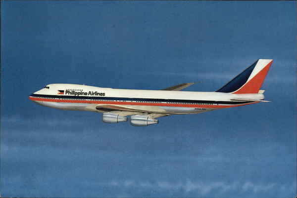 Philippine Air Lines - Boeing 747 Aircraft