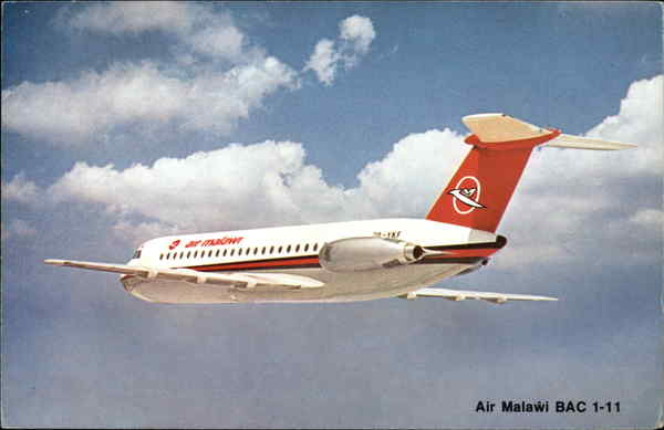 Air Malawi BAC 1-11 Aircraft