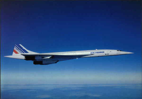 Air France Concorde Aircraft