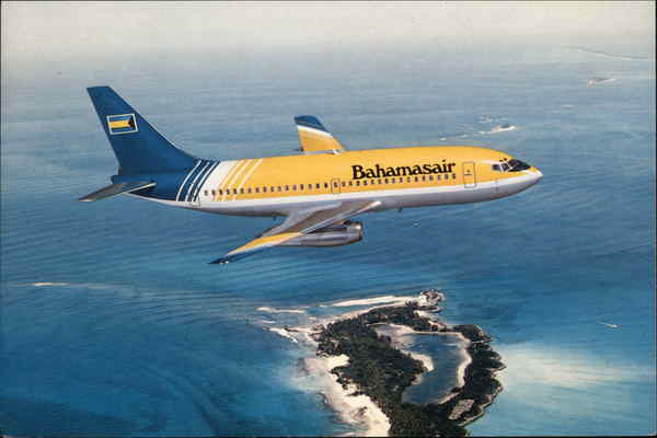 Bahamasair Boeing 737-200 Advanced - The National Airlines of the Bahamas