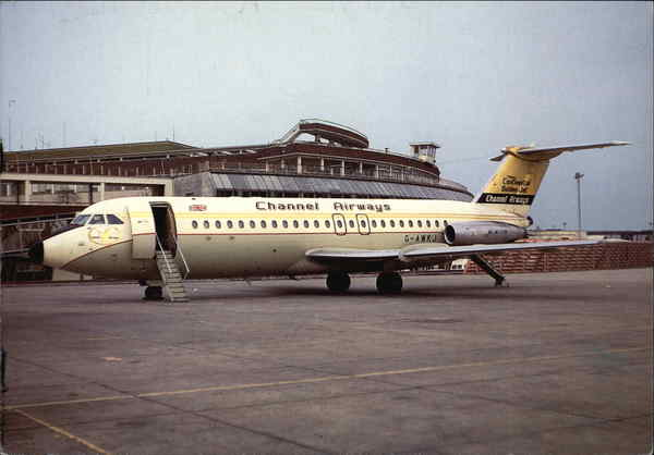 Channel Airways - G-AVGP BAC 1-11 408EF Aircraft