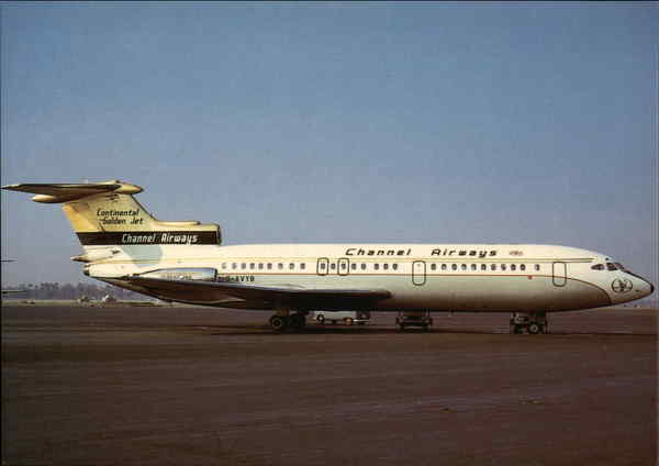 Channel Airways - Hawker Siddeley Trident 1E Aircraft