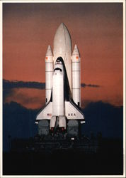 Kennedy Space Center Florida--Rollout of the Space Shuttle Columbia