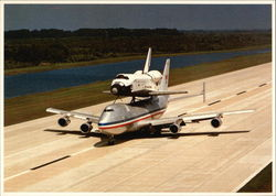Space Shuttle Columbia on 747 Carrier
