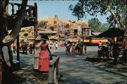 Morning Time at Calico Square, Knott's Berry Farm and Ghost Town