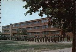 Trainee Barracks in the 1st Signal Training Brigade Area