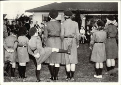 Girl Scout Ceremony - 1958