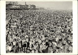 Coney Island, c. 1938, photograph by Weegee