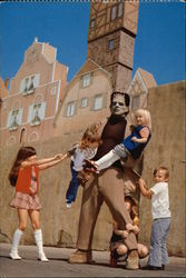 Frankenstein and Friends at Universal Studios