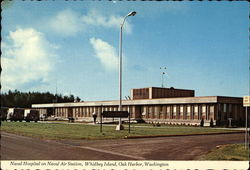 Naval Hospital on Naval Air Station, Whidbey Island, Oak Harbor, Washington