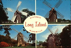 Historic Long Island Windmills