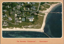 The Kennedy Compound Postcard