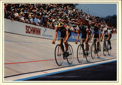 The Major Taylor Velodrome Postcard