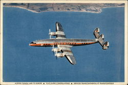 Trans-Canada Air Lines - TCA Super Constellation Skyliner