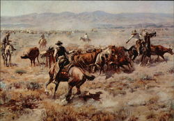 Roundup by Charles Marion Russell