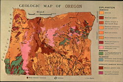 Geological Map of Oregon