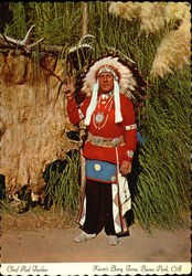 Chief Red Feather, Knott's Berry Farm
