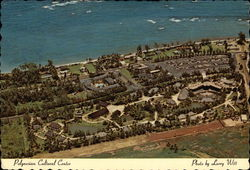 Aerial View of Polynesian Cultural Center