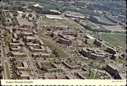 Aerial View of Student Housing Complex