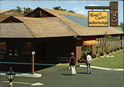 Town 'N Country Motor Lodge Postcard