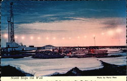 North Slope Oil Well Postcard