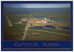 Arco's Kuparuk Oilfield Operations Center Postcard