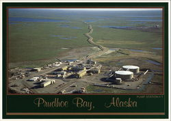 Trans-Alaska Pipeline at Pump Station #1