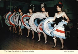 The Can Can Girls of Skagway, Alaska