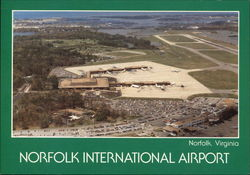 Norfolk International Airport - Norfolk, Virginia Postcard
