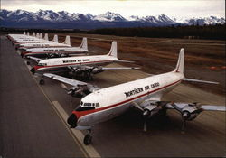 Northern Air Cargo Fleet of DC-6 Freighters