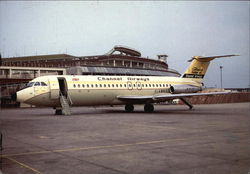 Channel Airways - G-AVGP BAC 1-11 408EF