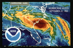 Hurricane Hugo, September 22, 1989