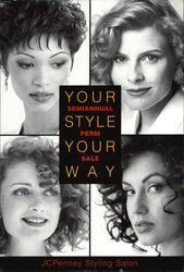 JCPenny Stying Salon - Your Style Your Way Semi Annual Perm Sale