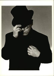 Elton John with top hat