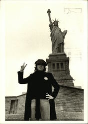 John Lennon, Statue of Liberty, 1974