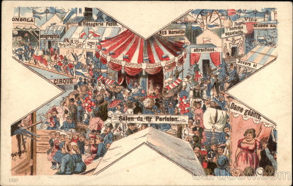 Crowd Watching A Circus Miscellaneous