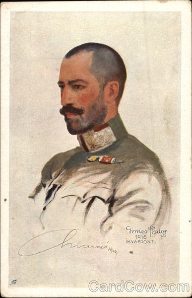 Portrait of a Hungarian soldier - Ikyafront Military