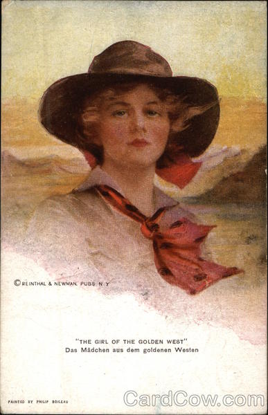 The Girl of the Golden West, Das Madchen aus dem goldenen Western