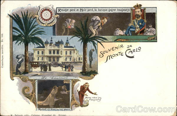 Souvenir of Monte Carlo Casinos & Gambling