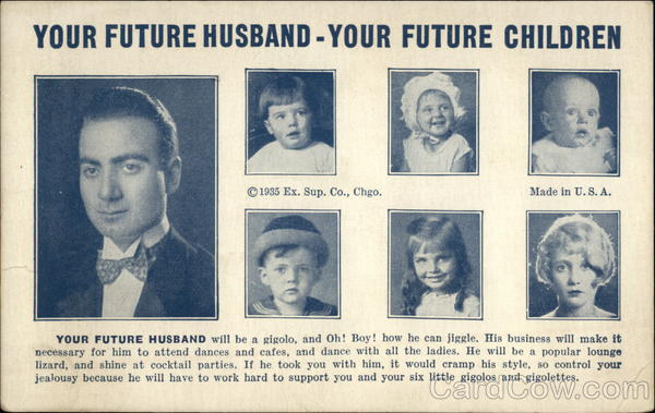 Your Future Husband - Your Future Children Comic, Funny