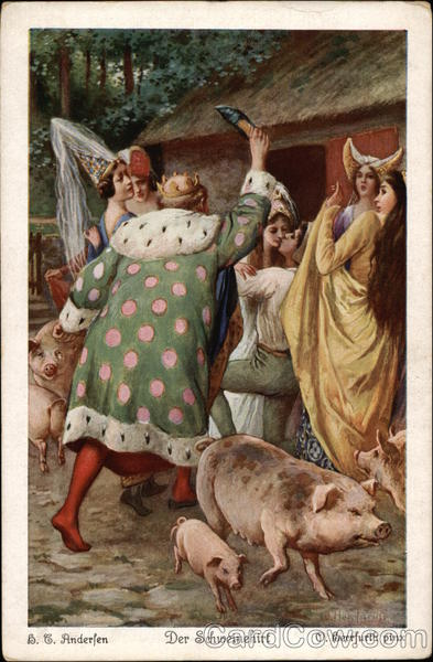 Royalty among the Pigs Fairy Tales