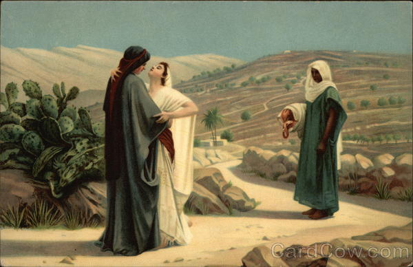 Ruth and Naomi by Philip Hermogenes Calderon Judaica