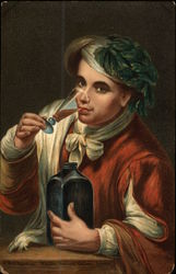 A Boy Drinking, Murillo, National Gallery, London
