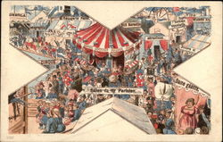 Crowd Watching A Circus