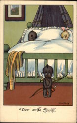 Children in Bed, Black Cupid