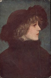 Profile of Woman wearing Black