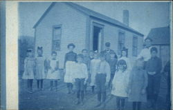 One Room Schoolhouse and Children