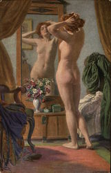 Nude Woman in the Mirror - Vor dem Spiegel
